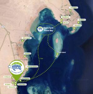 Karte von Soma Bay in Safaga